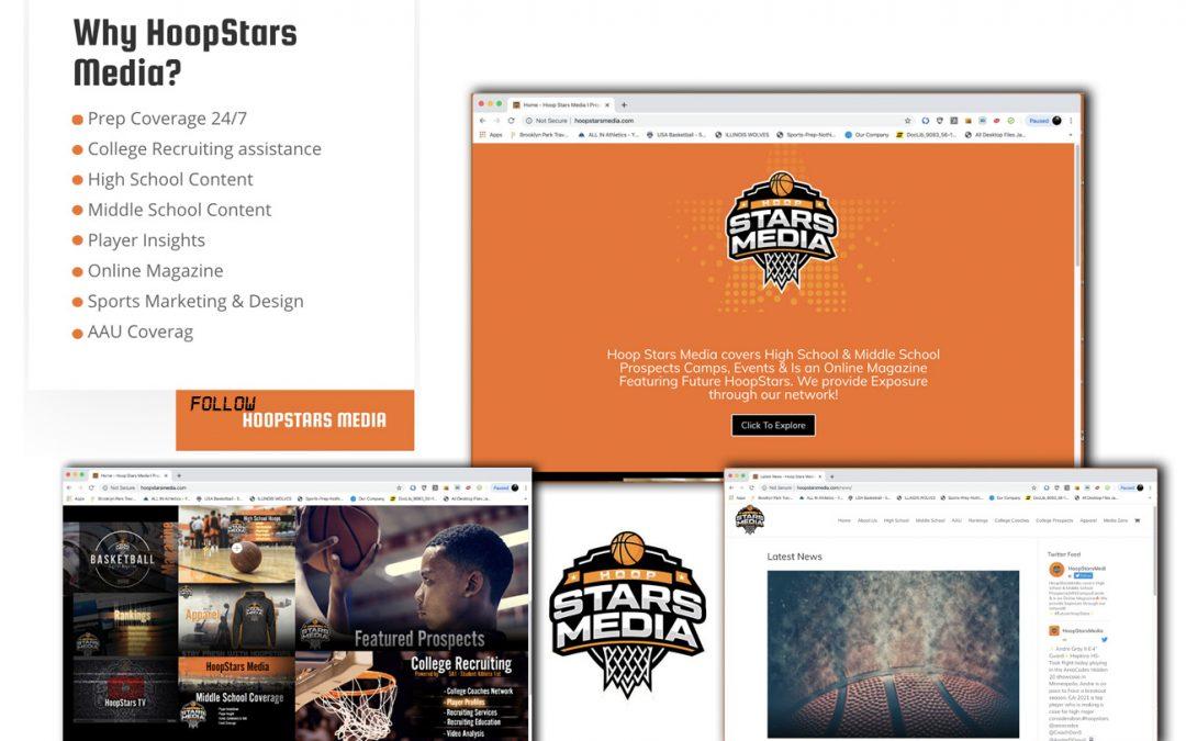 Hoop Star website banner