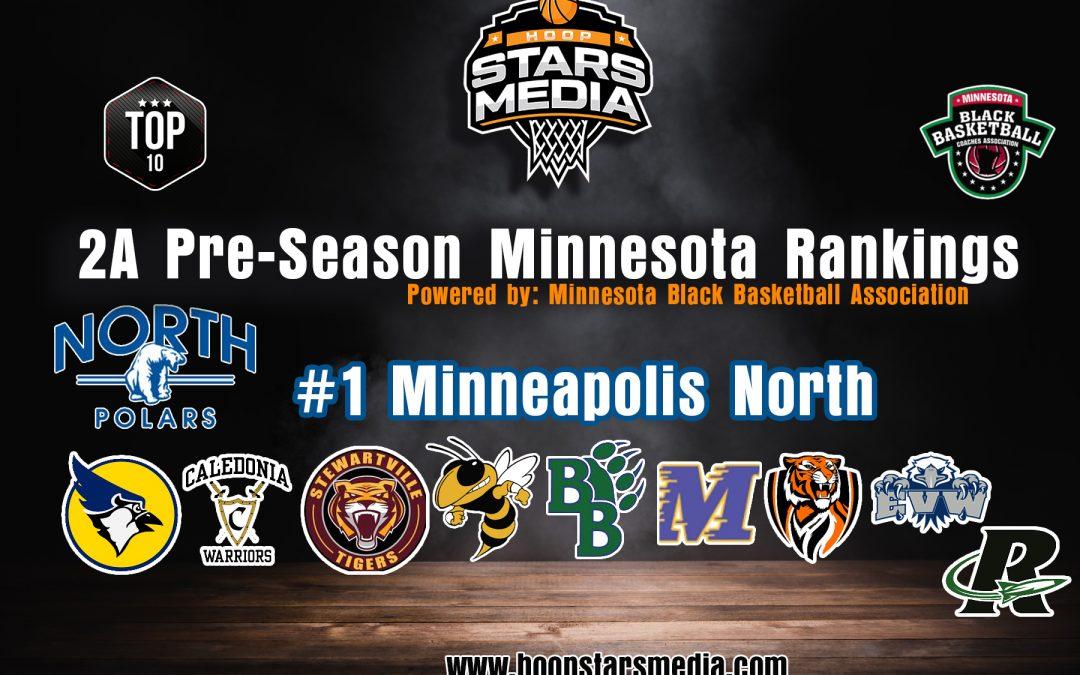 Hoop Stars Media 2A Pre – Season Rankings Powered by Minnesota Black Coaches Association!
