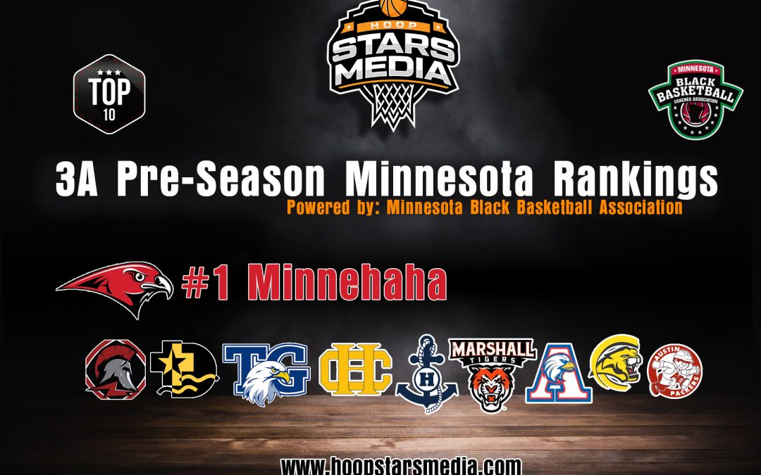 Hoop Stars Media 3A Pre – Season Rankings Powered by Minnesota Black Coaches Association!