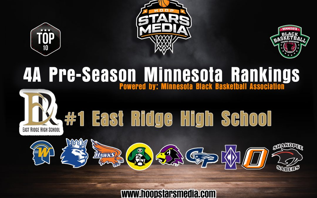Hoop Stars Media 4A Pre – Season Rankings Powered by Minnesota Black Coaches Association!