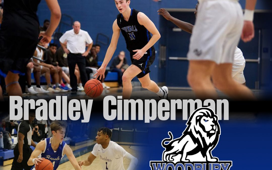 Bradley Cimperman Woodbury High School Basketball player