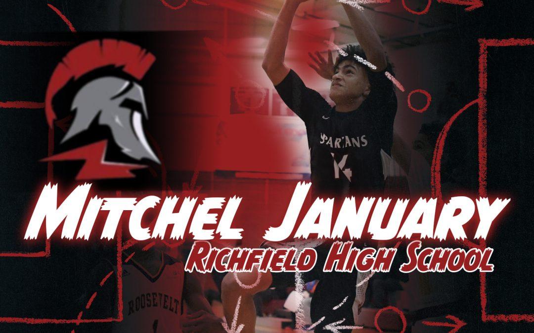 Mitchel January Richfield High School Basketball