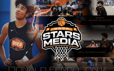 Donald Ferguson III 6'2″ Point Guard – Taking his game to new heights!