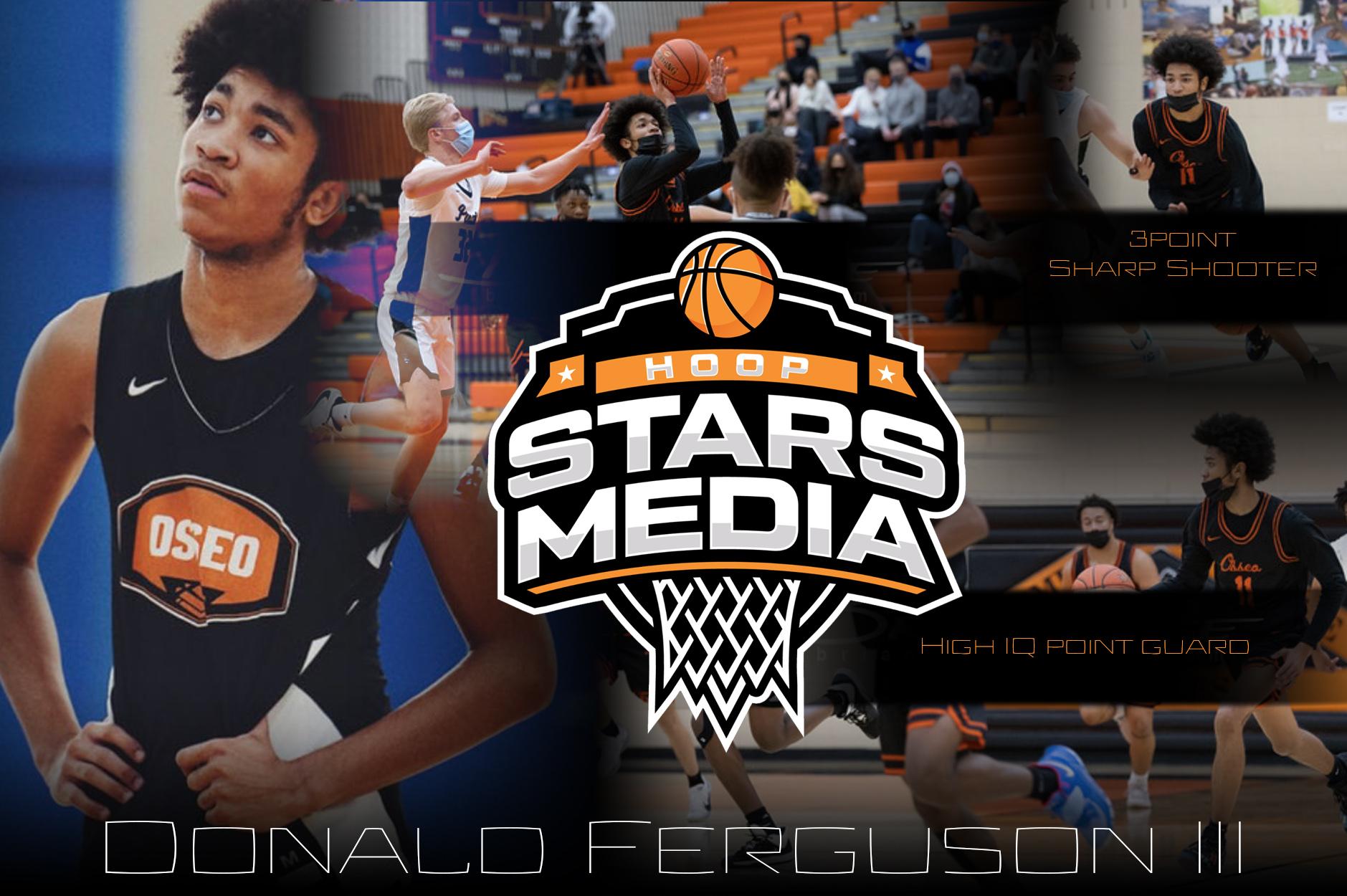 "Donald Ferguson III 6'2"" Point Guard Osseo High School"